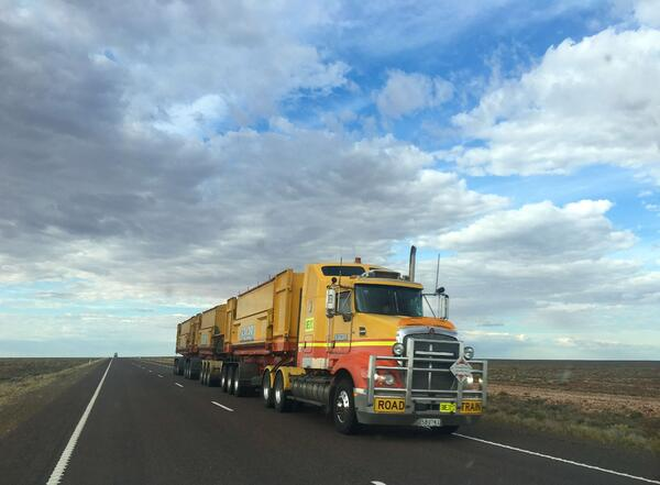 Digital transformation in logistics_ environmental sustainability_truck on the road