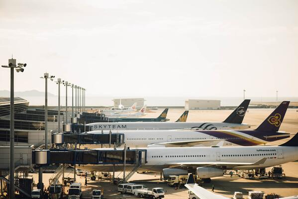 cover image [data for personalization] planes at the airport