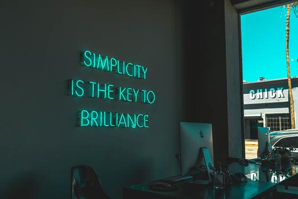 simplicity is key for changing corporate culture