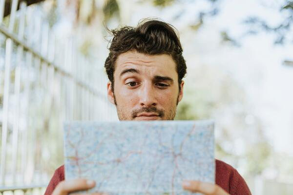 man wondering which data is best for personalization in  the travel industry?